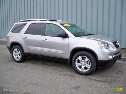 2008 GMC Acadia for sale at 1 Stop Auto Wholesale Outlet in Norfolk VA