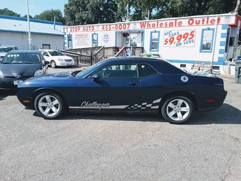 2013 Dodge Challenger for sale at 1 Stop Auto Wholesale Outlet in Norfolk VA