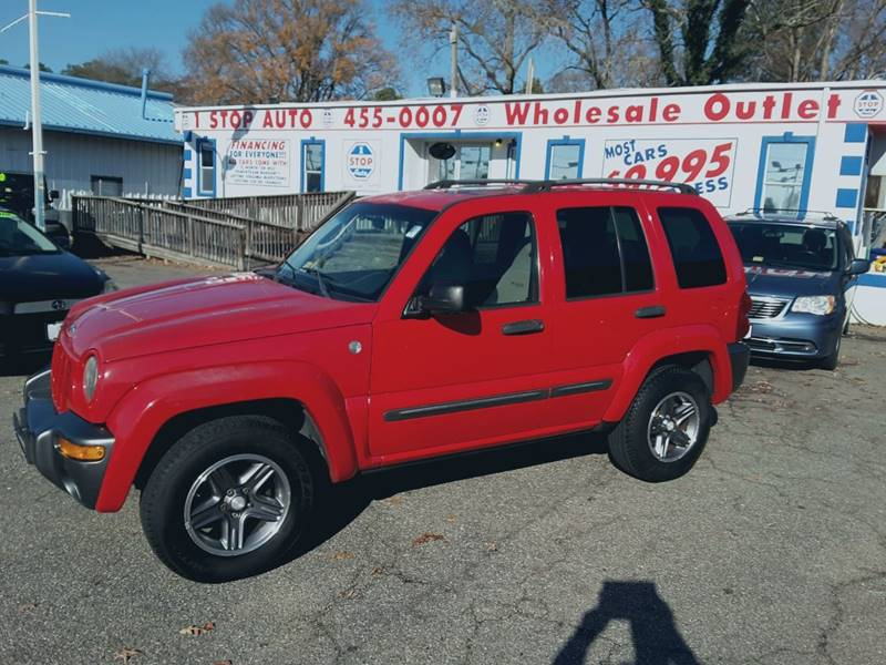 2004 Jeep Liberty Sport In Norfolk Va 1 Stop Auto Wholesale Outlet