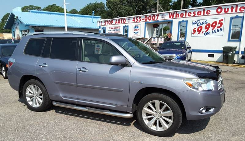 2008 Toyota Highlander Hybrid For Sale At 1 Stop Auto Wholesale Outlet In  Norfolk VA
