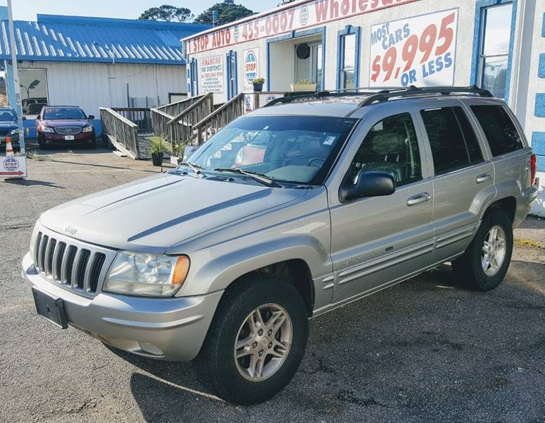 2000 Jeep Grand Cherokee For Sale At 1 Stop Auto Wholesale Outlet In  Norfolk VA