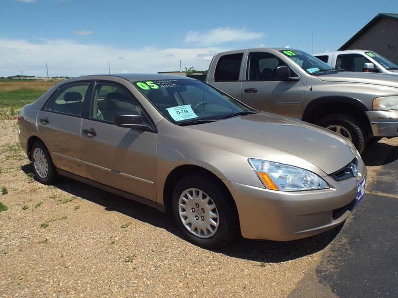 2005 Honda Accord for sale at G & K Supreme in Canton SD