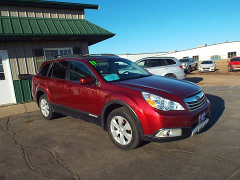 2011 Subaru Outback for sale at G & K Supreme in Canton SD