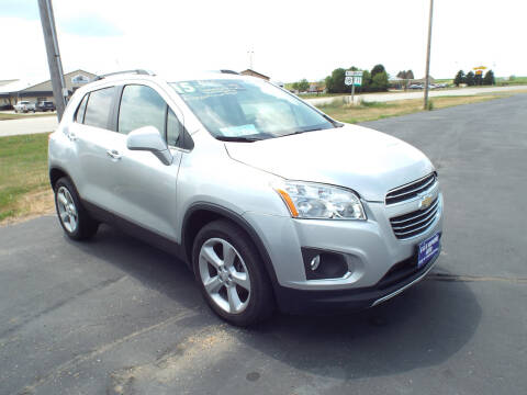 2015 Chevrolet Trax for sale at G & K Supreme in Canton SD