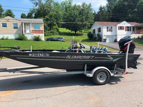 1999 Alumacraft Fish Hunter All Weld