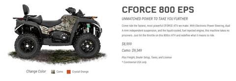 2017 CF Moto CFORCE 800 EPS