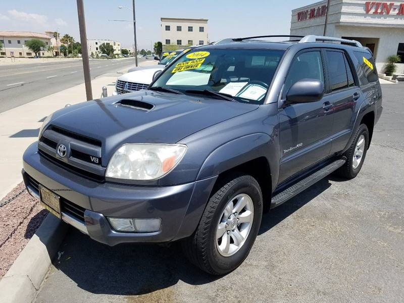 2004 Toyota 4Runner Sport Edition 4WD 4dr SUV - Victorville CA