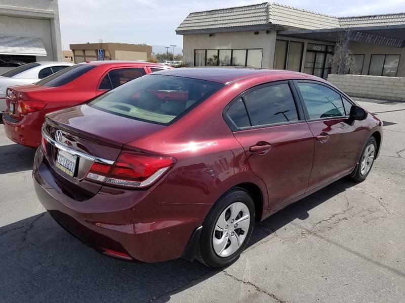 2014 Honda Civic LX 4dr Sedan CVT - Victorville CA