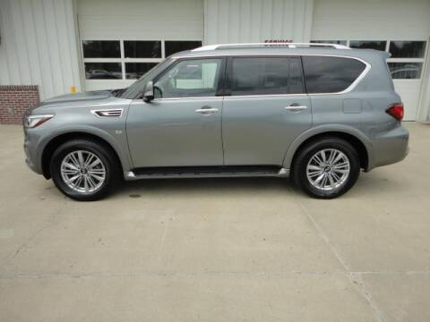 2019 Infiniti QX80 for sale at Quality Motors Inc in Vermillion SD