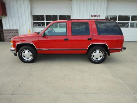 1997 Chevrolet Tahoe for sale in Vermillion, SD