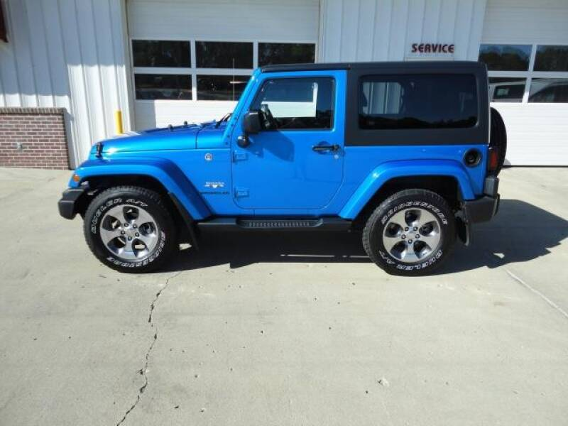 2016 Jeep Wrangler for sale at Quality Motors Inc in Vermillion SD