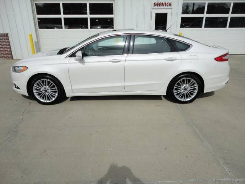 2013 Ford Fusion for sale at Quality Motors Inc in Vermillion SD