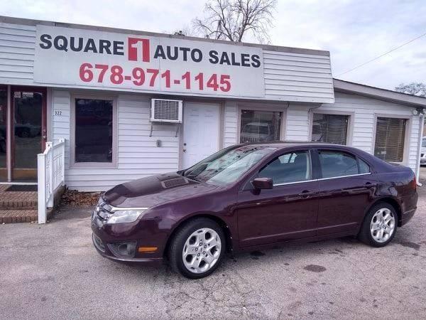 2011 Ford Fusion Se 4dr Sedan In Gainesville Ga Square 1