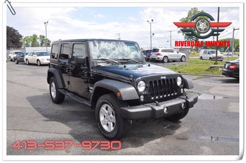 2015 Jeep Wrangler Unlimited for sale in West Springfield, MA