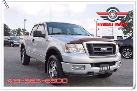 2004 Ford F-150 for sale at Riverdale Imports in West Springfield MA