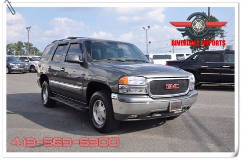 2001 GMC Yukon for sale at Riverdale Imports in West Springfield MA