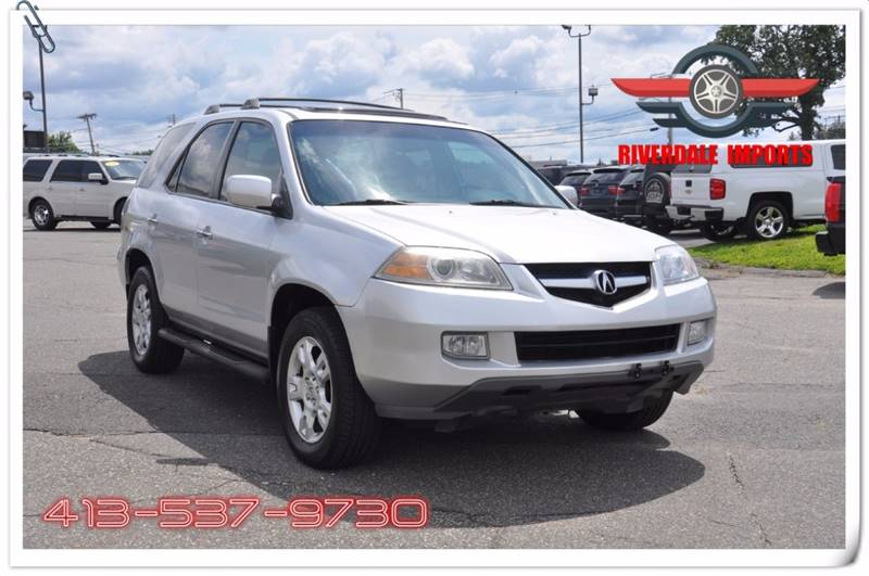 2006 Acura MDX for sale at Riverdale Imports in West Springfield MA