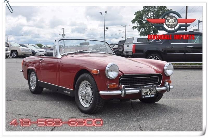 1971 MG Midget for sale at Riverdale Imports in West Springfield MA