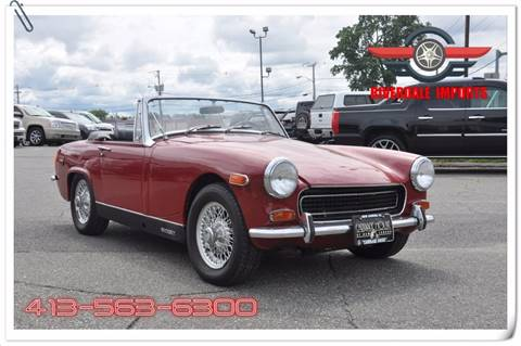 1971 MG Midget for sale in West Springfield, MA