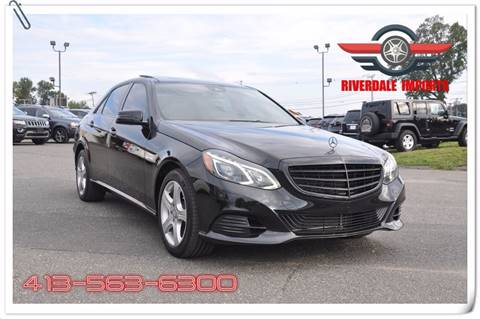 2014 Mercedes-Benz E-Class for sale in West Springfield, MA