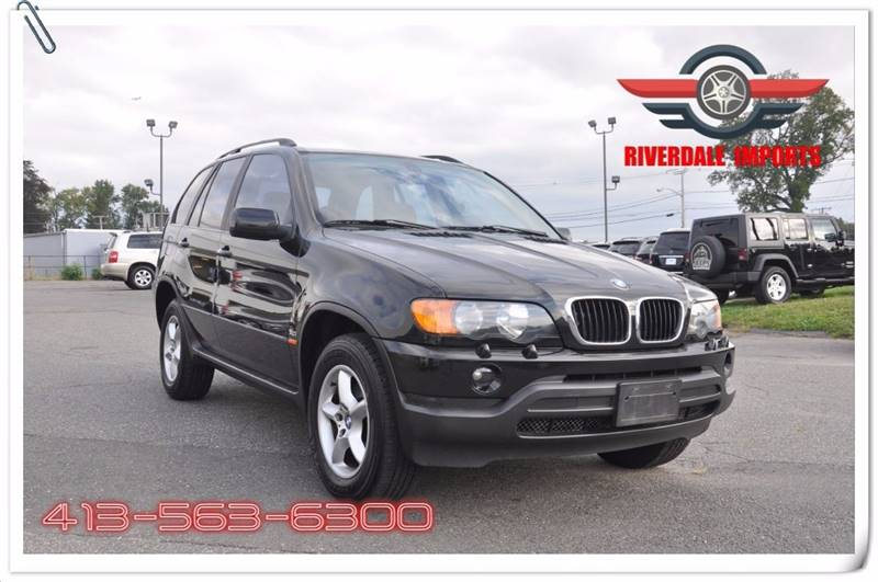 2002 BMW X5 for sale at Riverdale Imports in West Springfield MA