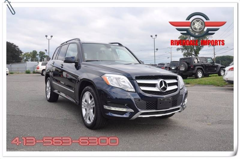 2014 Mercedes-Benz GLK for sale at Riverdale Imports in West Springfield MA