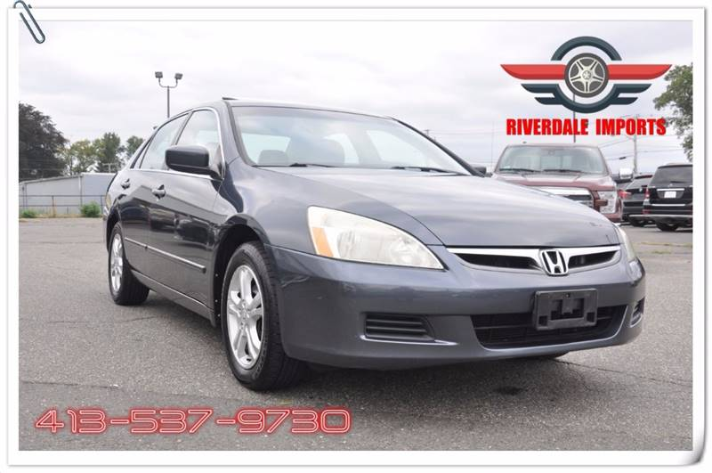 2007 Honda Accord for sale at Riverdale Imports in West Springfield MA