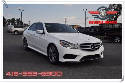 2014 Mercedes-Benz E-Class for sale at Riverdale Imports in West Springfield MA