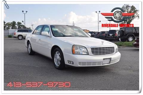 2005 Cadillac DeVille for sale at Riverdale Imports in West Springfield MA