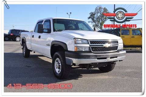 2006 Chevrolet Silverado 2500HD for sale at Riverdale Imports in West Springfield MA