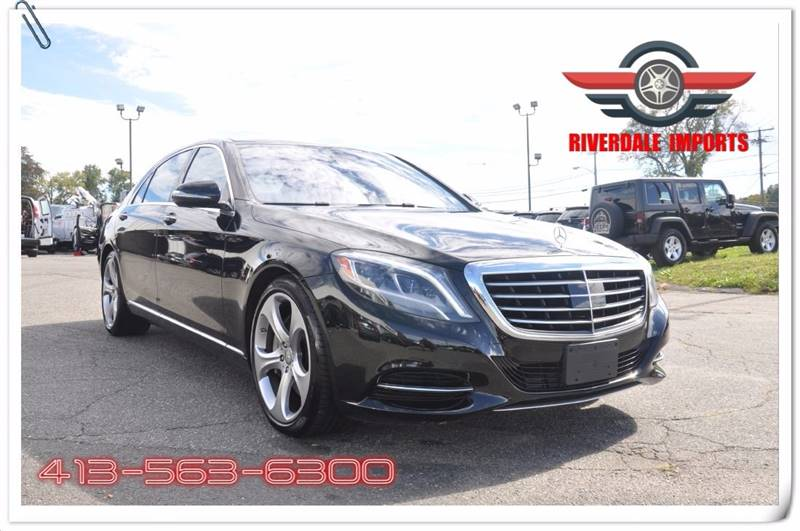 2015 Mercedes-Benz S-Class for sale at Riverdale Imports in West Springfield MA
