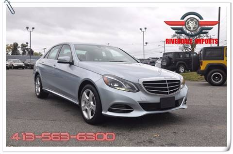 Mercedes Benz E Class For Sale In West Springfield Ma