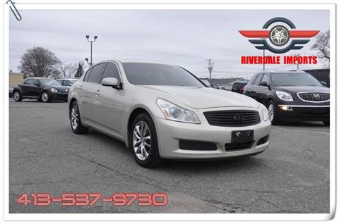 2007 Infiniti G35 For Sale At Riverdale Imports In West Springfield MA