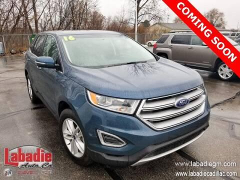 2016 Ford Edge for sale in Bay City, MI