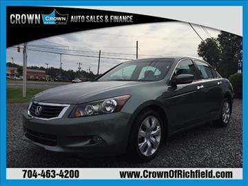 2008 Honda Accord for sale in Richfield, NC