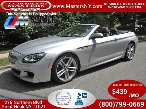 2015 BMW 6 Series for sale in Great Neck, NY