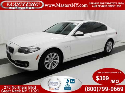 2015 BMW 5 Series for sale in Great Neck, NY