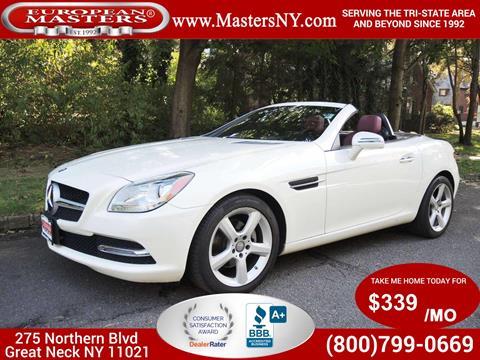 2015 Mercedes-Benz SLK for sale in Great Neck, NY