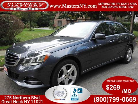2014 Mercedes-Benz E-Class for sale in Great Neck, NY