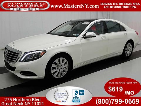 2015 Mercedes-Benz S-Class for sale in Great Neck, NY