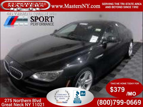 2014 BMW 6 Series for sale in Great Neck, NY