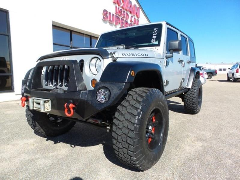 2011 jeep wrangler unlimited 4x4 rubicon 4dr suv in hattiesburg ms ryan used car superstore. Black Bedroom Furniture Sets. Home Design Ideas