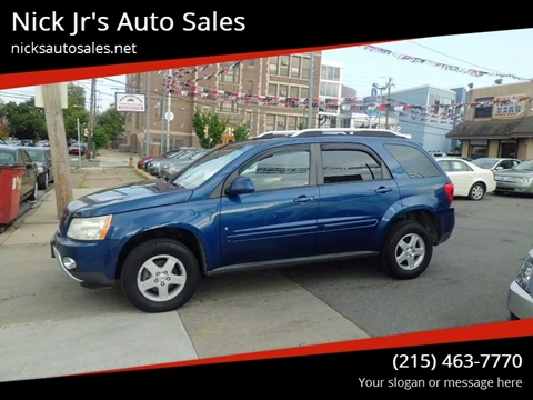 2008 Pontiac Torrent for sale in Philadelphia, PA