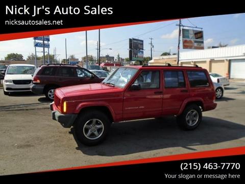 1998 Jeep Cherokee for sale in Philadelphia, PA