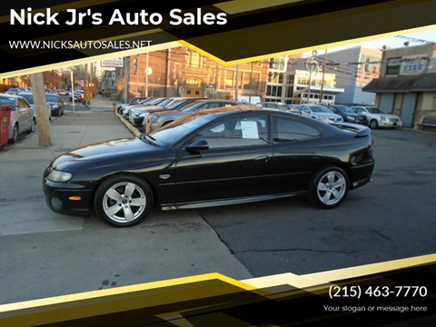 2004 Pontiac GTO for sale in Philadelphia, PA