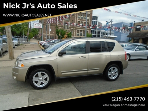 2010 Jeep Compass for sale in Philadelphia, PA