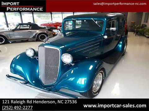 Chevrolet Street Rod For Sale in Raleigh, NC - Import Performance Sales