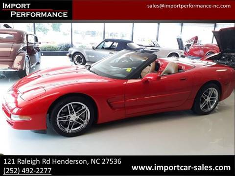 Chevrolet Corvette For Sale in Raleigh, NC - Import