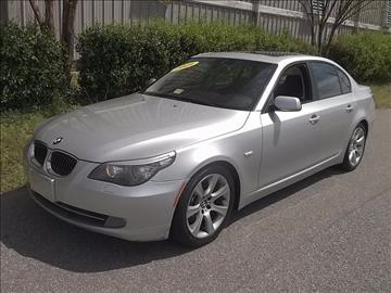 2009 BMW 5 Series for sale at East Beach Auto Sales in Norfolk VA