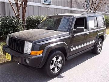 2006 Jeep Commander for sale at East Beach Auto Sales in Norfolk VA